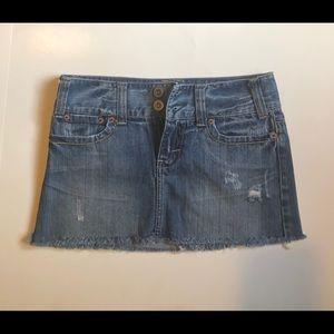 American Eagle Jeans Mini Skirt